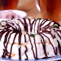 Торт из крекера и сметаны