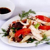 Кальмары в кисло-сладком соусе по-вьетнамски