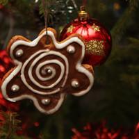Рождественские пряники на елку