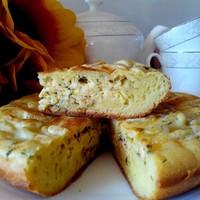 Пирог с сыром в мультиварке заливной