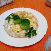 Салат с сыром грецкими орехами
