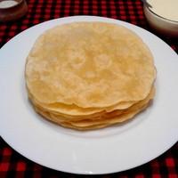 Казахский шелпек - лепешки