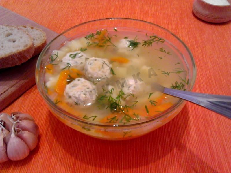 Рецепты супа с клецками пошагово фото