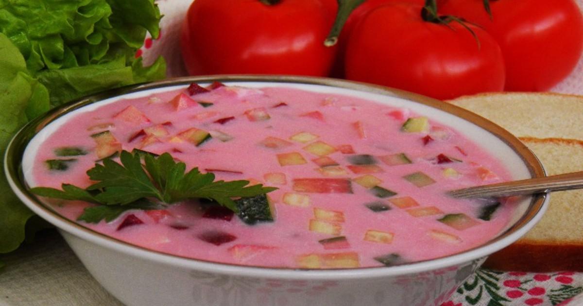 рецепты холодных супов из фруктов расчет калорий