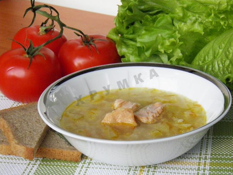 Суп из кеты рецепт пошагово