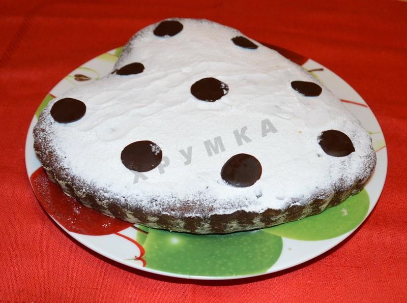 Пирог на кефире со смородиновым вареньем рецепт с пошагово