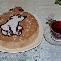 Торт Мишка на севере