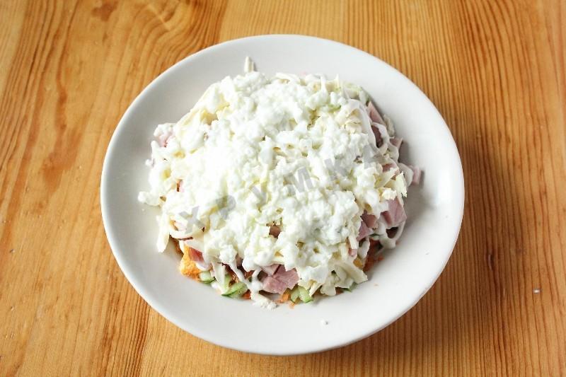 салат семицветик рецепт с фото с чипсами