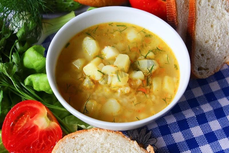 Суп из курицы с рисом и картошкой рецепт с пошагово