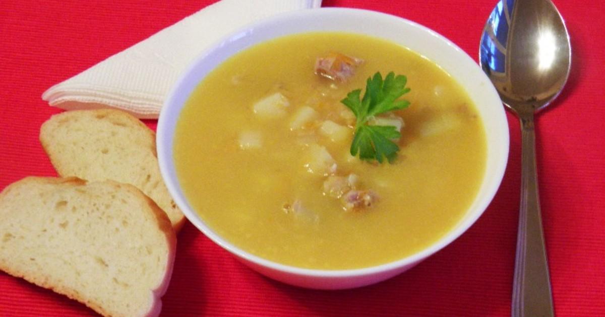 рецепт супа горохового с мясом свинины рецепт