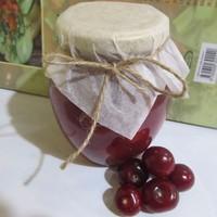Вишневое варенье с желатином из вишни