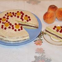 Торт Мечта жизни со сгущенкой