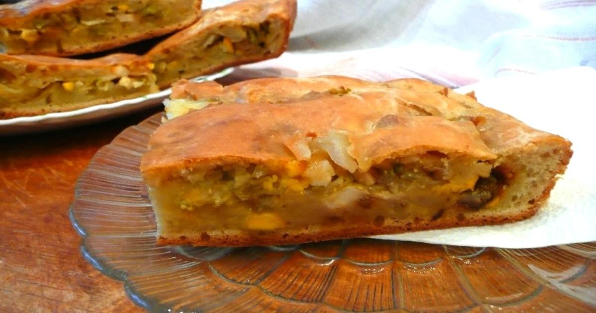 пирог с капустой в духовке вкусный
