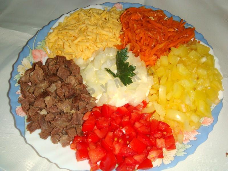 Салат корейский с моркови рецепт