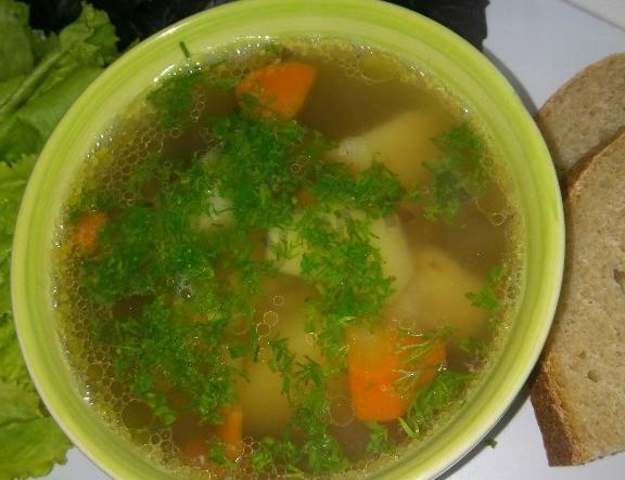 суп с желудками куриными рецепт с фото