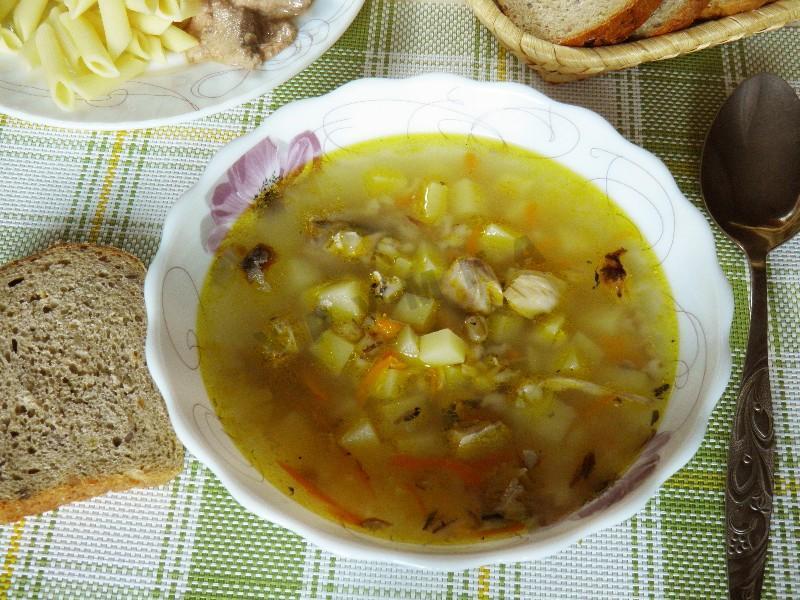 суп рыбный с перловкой рецепты с фото