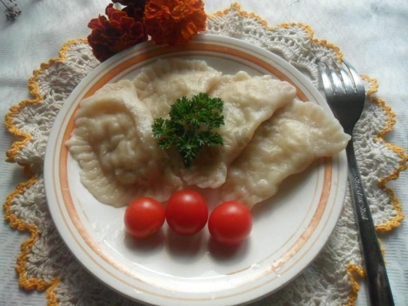 Вареники с сырой картошкой рецепт пошагово в