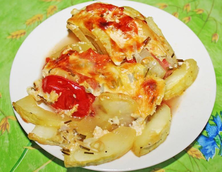 Запеканка из кабачков в духовке рецепты с фото без помидор