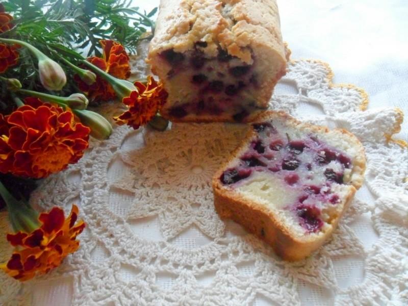 Кексы с ягодами рецепты с фото пошагово