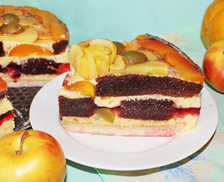 как приготовить бисквитный торт пошагово с фото