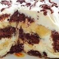 Торт из шоколадных пряников