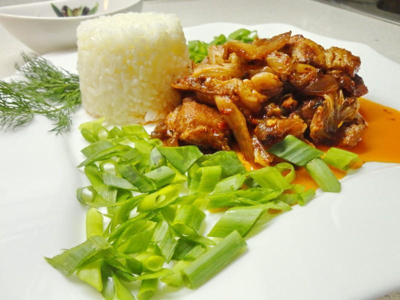 свинина с кимчи по корейски