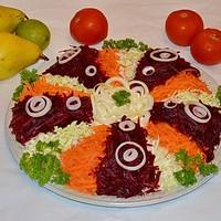 Салат Президент с мясом