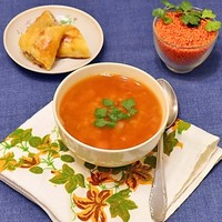Турецкий суп булгур