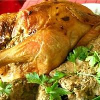 Фаршированный цыпленок по-арабски