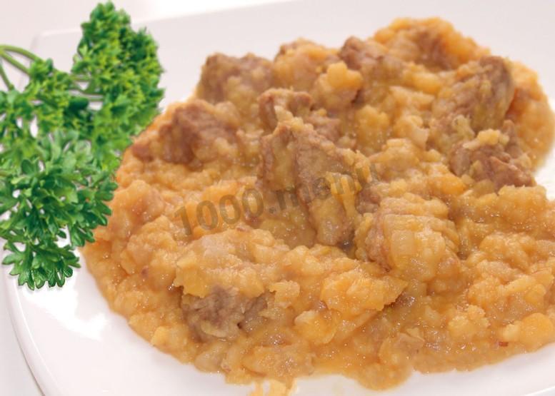 Гороховая каша с овощами рецепт пошаговый