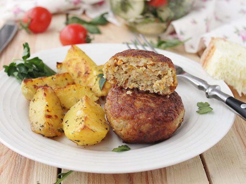 Рыбные котлеты рецепт в духовке без хлеба 26