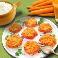 Котлеты морковные на пару в мультиварке