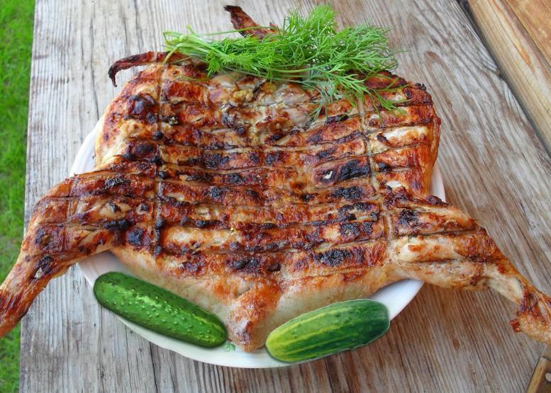 как приготовить барбекю из курицы