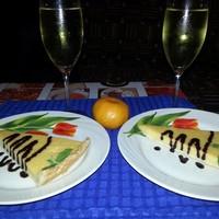 Тыквенный французский пирог тарт с тыквой