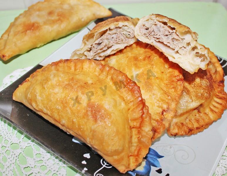 тесто на чебуреки рецепт пошагово с фото