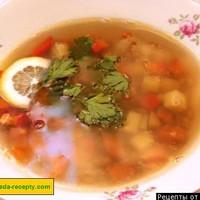 диетический суп с плавленным сыром рецепт калорийность
