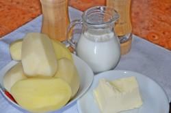Картофельное пюре в мультиварке - рецепт пошаговый с фото