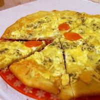 Итальянская пицца 4 сыра в духовке
