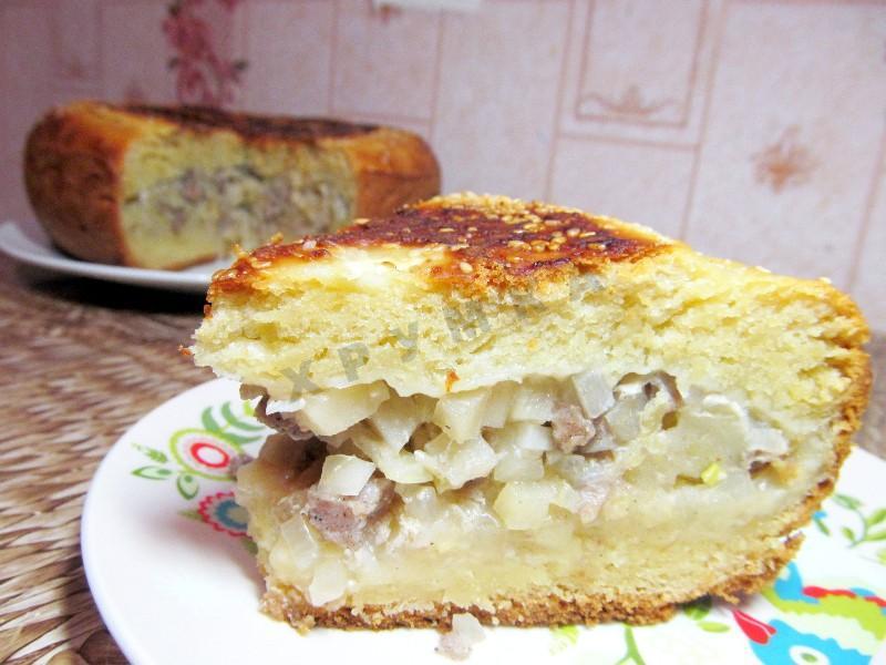 Простые пирог в мультиварке рецепты с фото на скорую руку