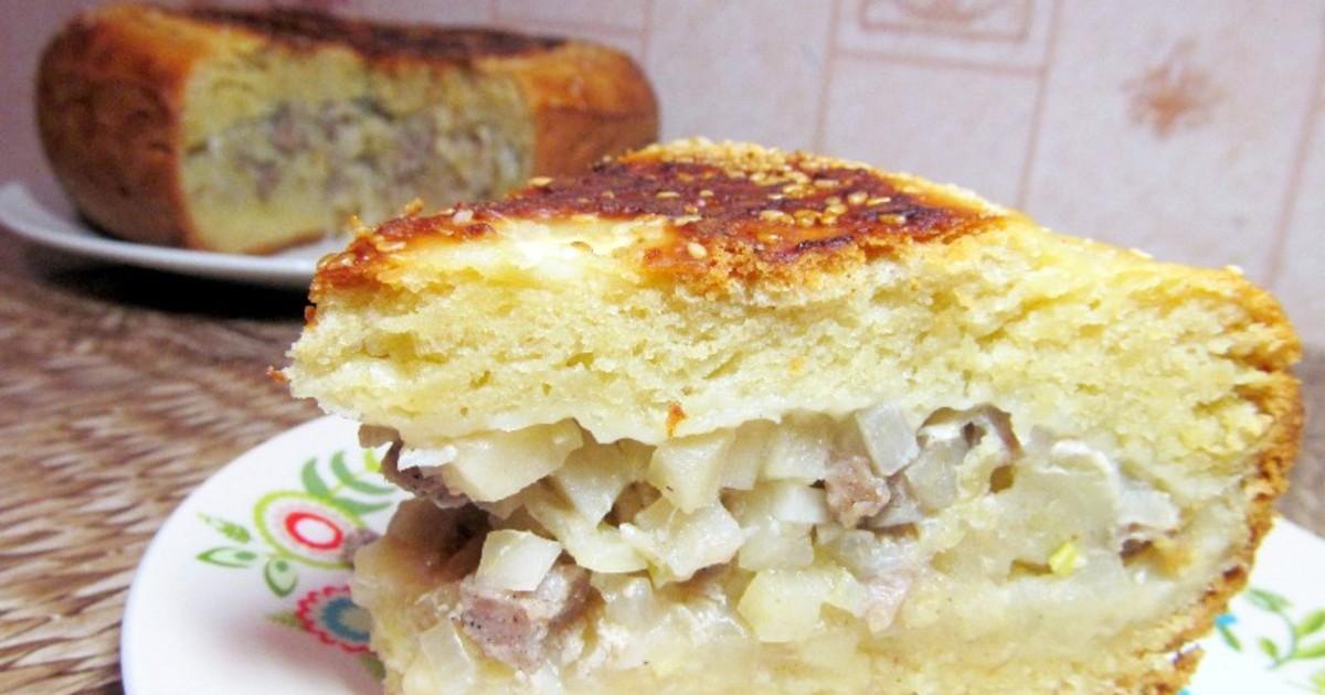 Быстрый пирог с картошкой в мультиварке рецепты