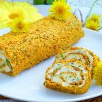 сырно-картофельнвй рулет с разными начинками рецепты