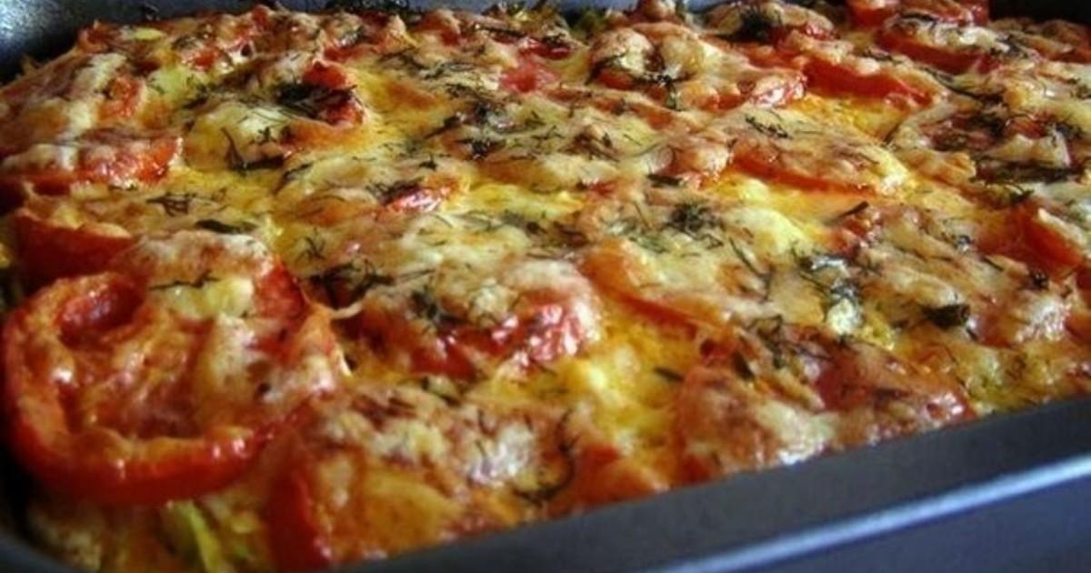 Кабачки с фаршем и помидорами в духовке рецепт с фото пошаговый рецепт