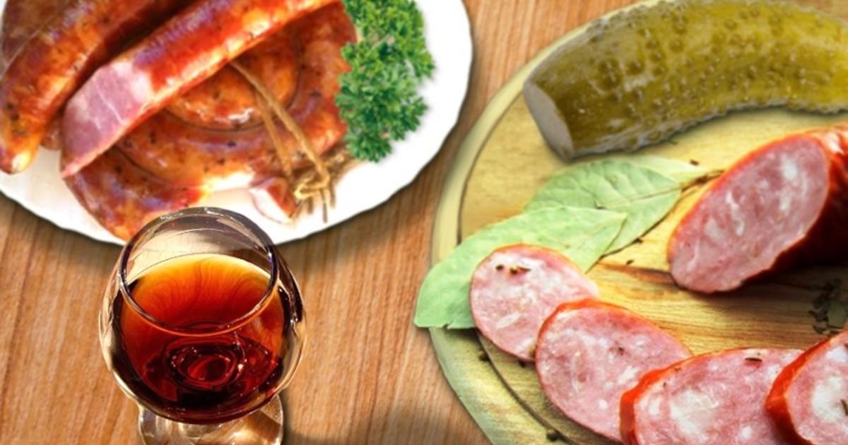 Колбаса домашняя рецепт фото пошагово