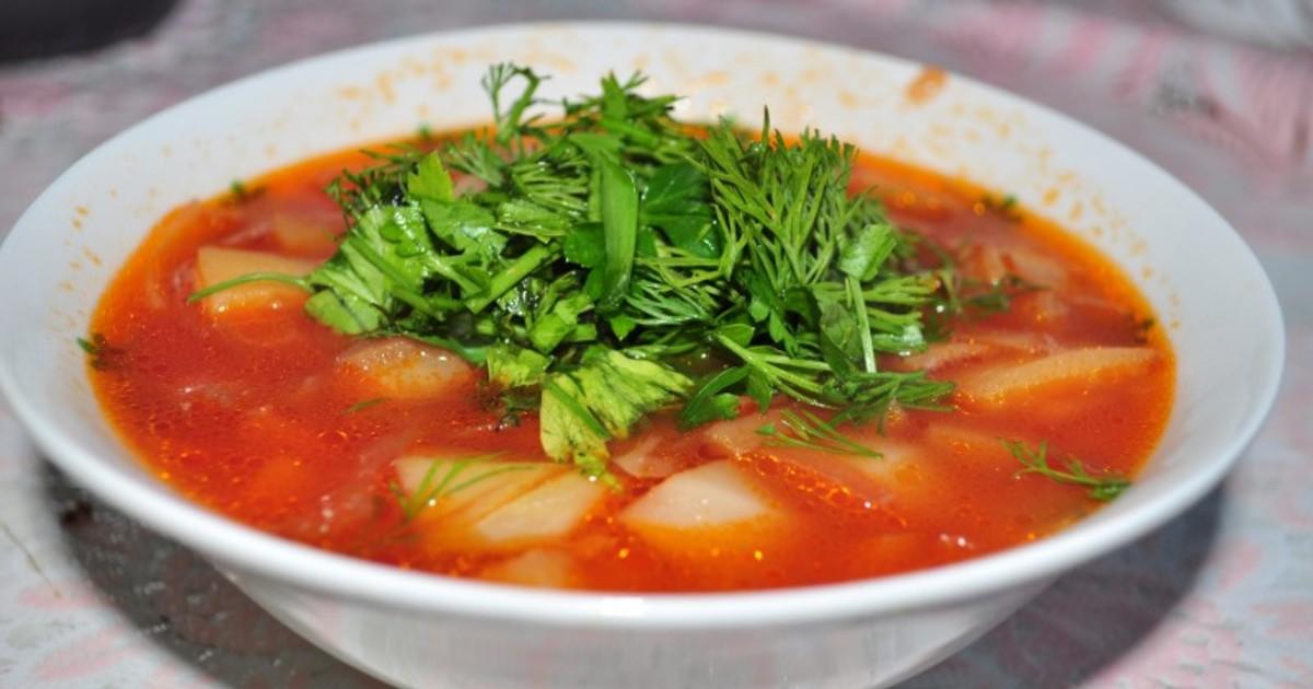 Как приготовить борщ пошаговый рецепт без мяса
