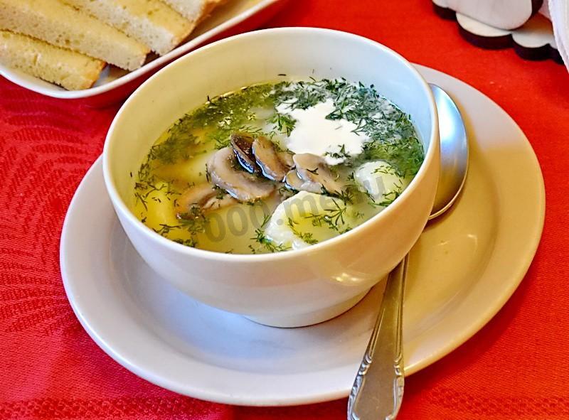 Варианты супов на мясном бульоне