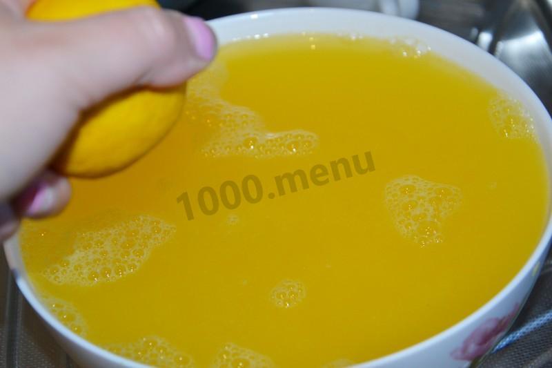 Как сделать сок из одного замороженного апельсина 450