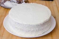Торт с кокосовой стружкой рецепт с пошагово