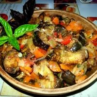 Тушеные баклажаны с кабачками и картошкой рецепт