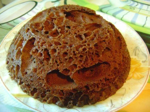 Торт Минутка с какао в микроволновке Рецепт 1000.menu