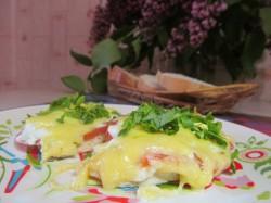 Отбивные из куриного филе с сыром в духовке